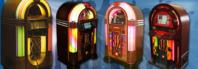 Jukebox rentals at the best prices - largest fleet of machines for hire
