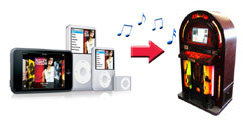 Ipod Jukebox Hire