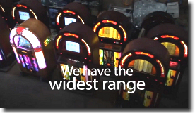 Jukebox Hire. Rent a Juke box from us for your Birthday, wedding or event