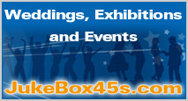 Jukebox hire for weddings, exhibitions and events