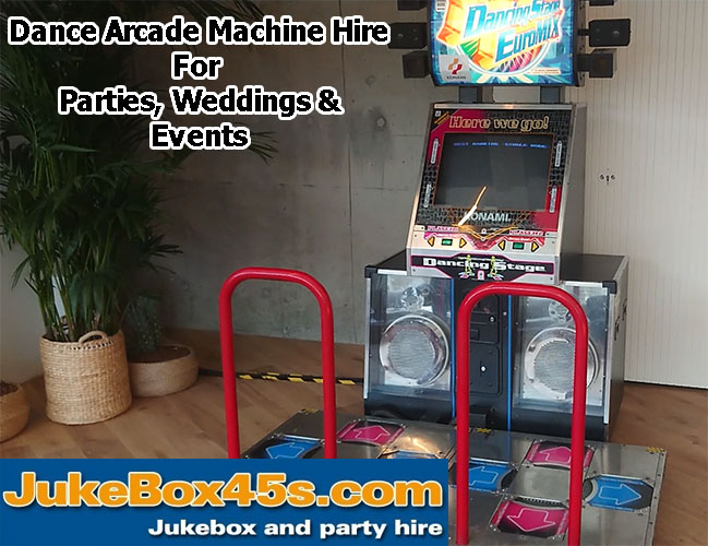 Uk Dance Arcade Machine Hire For Parties