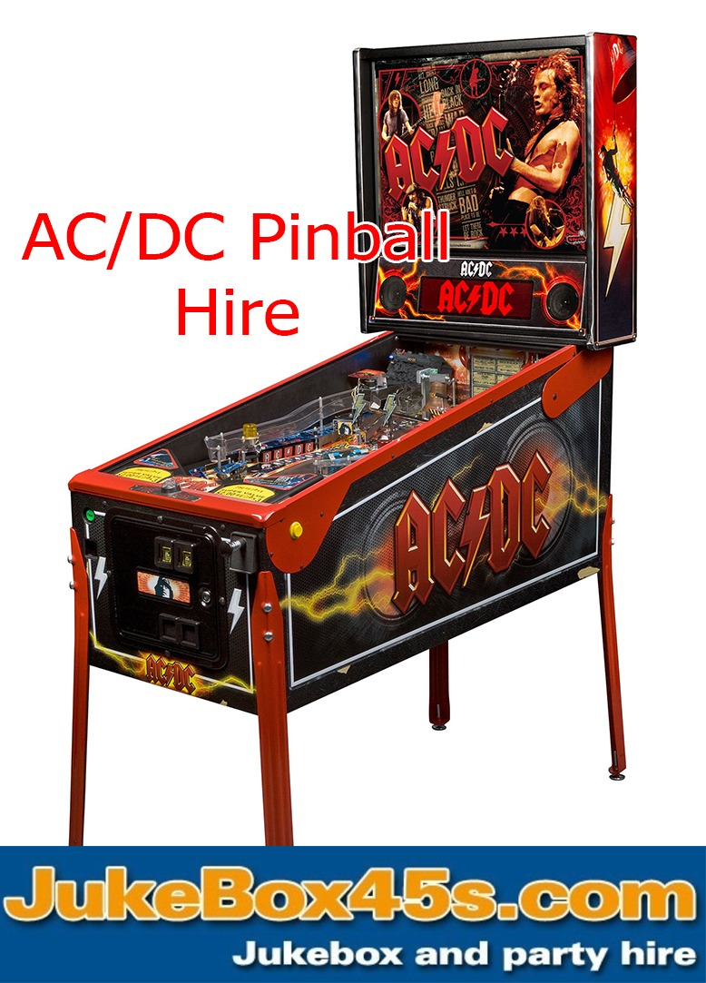 AC DC Pinball Machine Hire