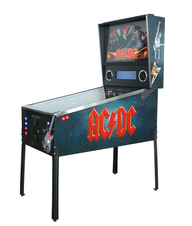ACDC Virtual Pinball Machine Hire