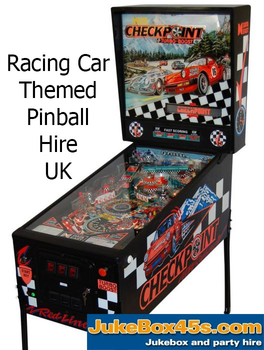 Checkpoint Pinball Machine Hire