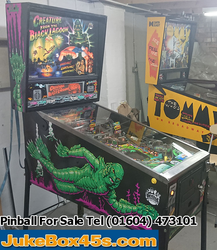 JukeBox45s | Creatures From The Black Lagoon Pinball