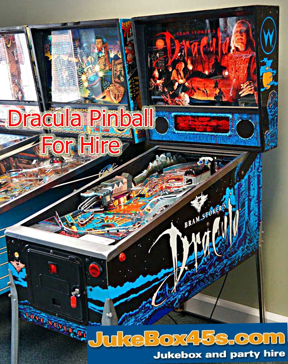 Dracula Pinball Machine Hire