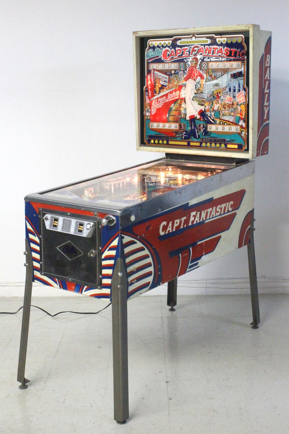 Captain Fantastic Pinball Machine Hire
