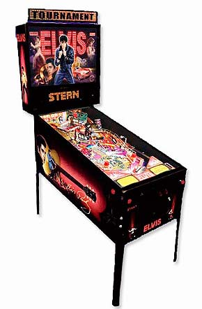 Elvis Pinball Machine Hire