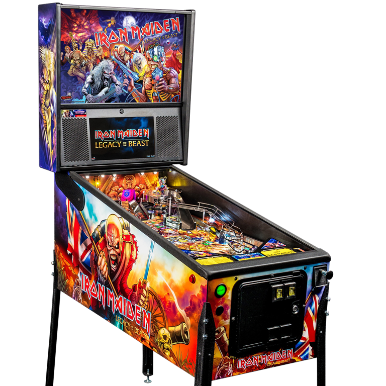 Iron Maiden Pinball Machine Hire