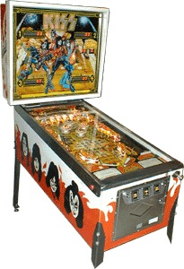 KISS Pinball Machine Hire