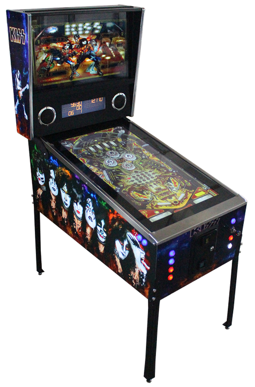 KISS Virtual Pinball Machine Hire