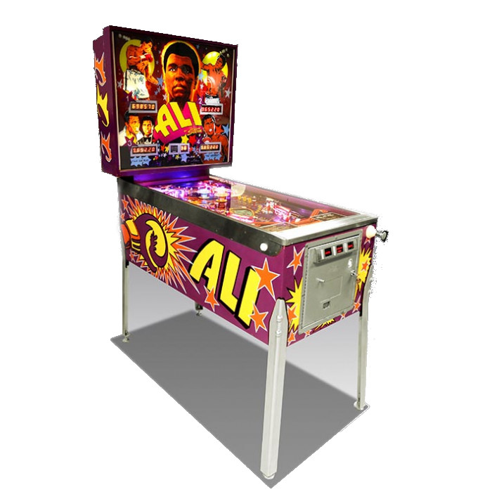 Muhammad Ali Pinball Machine Hire
