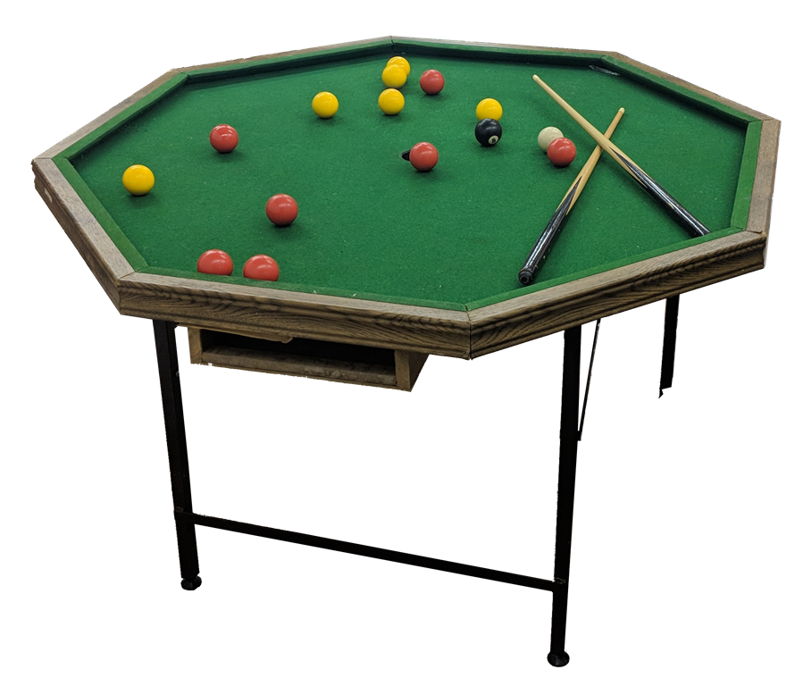Octagonal Pool Table Hire