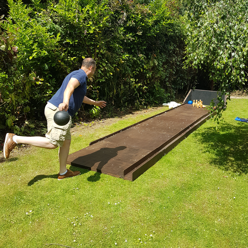 Garden Bowling Alley Hire