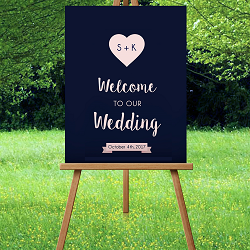 Engraved Wedding Signs
