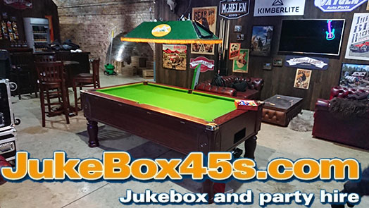 pool table hire rental