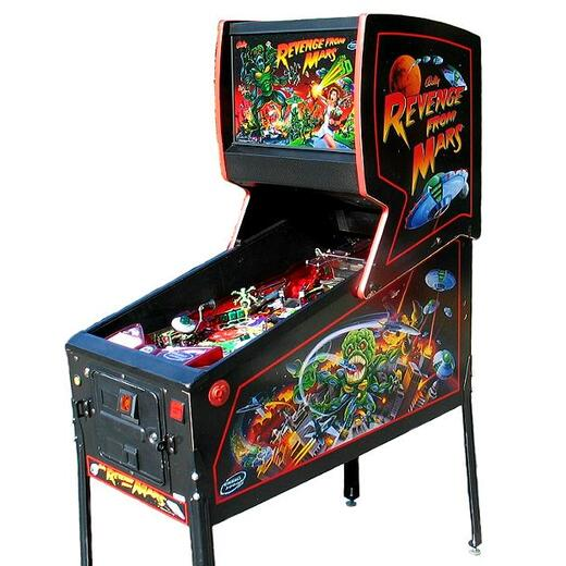Revenge From Mars Pinball Machine Hire