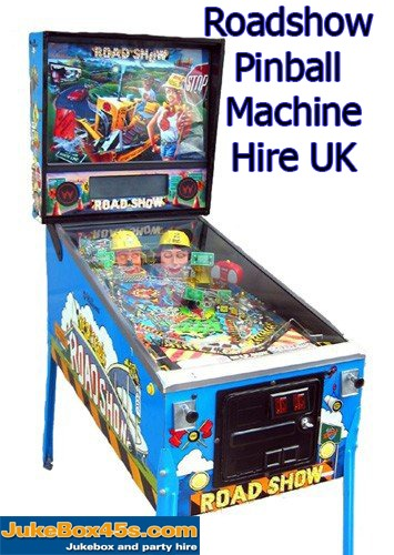 Roadshow Pinball Machine Hire