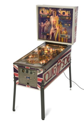Rolling Stones Pinball Machine Hire