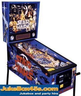 Start Wars Pinball Machine Hire