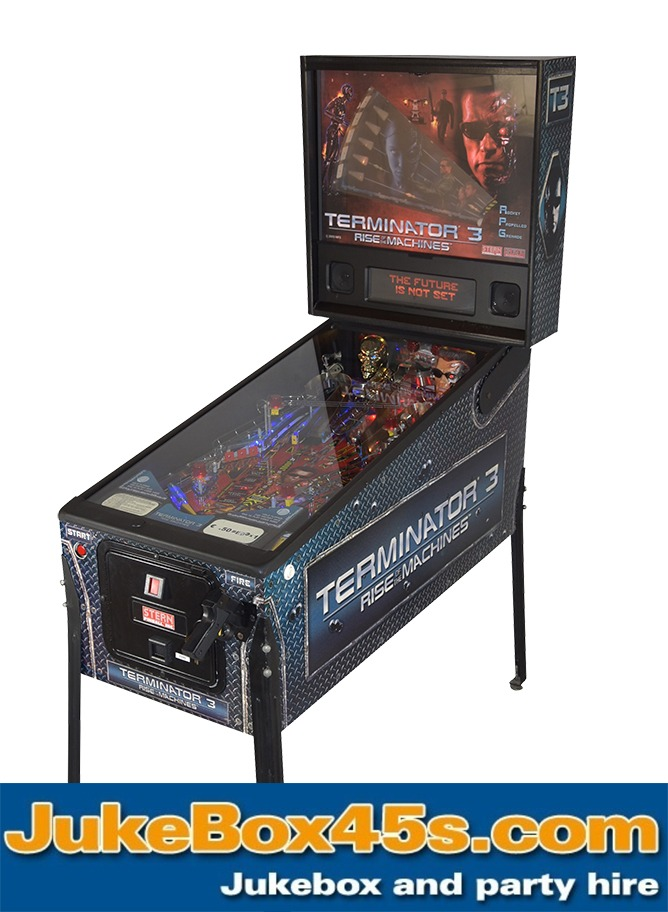 Terminator 3Pinball Machine Hire