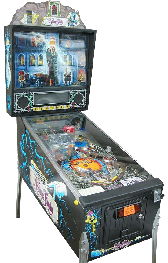 The Addams Family Pinball Machine Hire