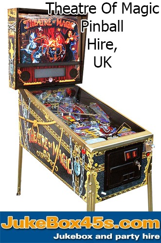 Theatre of Magic Pinball Machine Hire