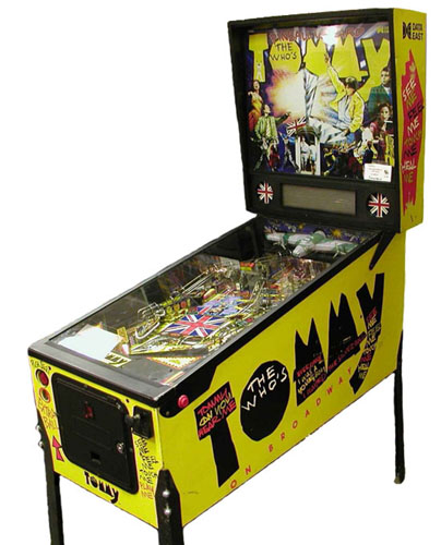 Tommy The Who Pinball Machine Hire