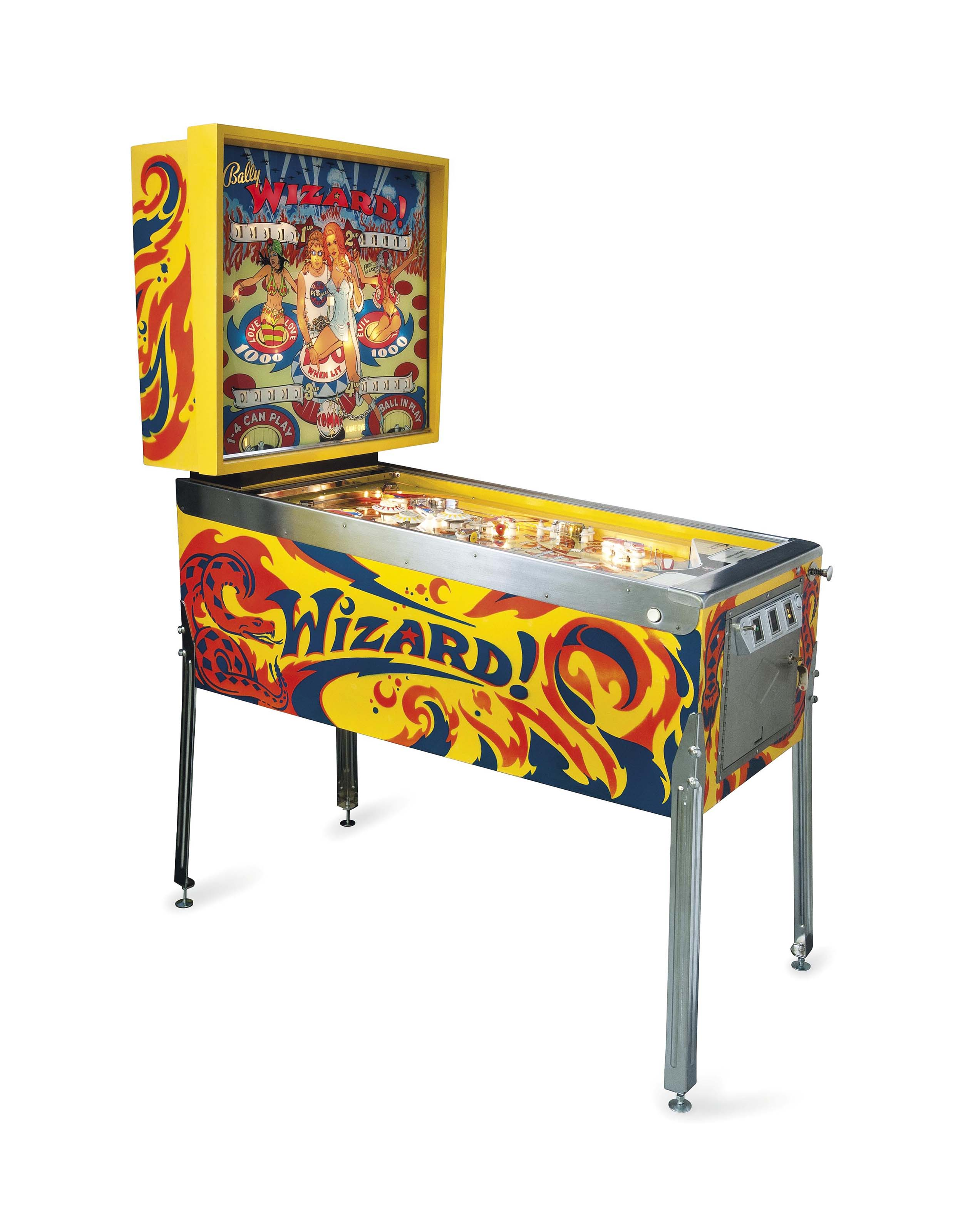 Wizzard Pinball Machine Hire